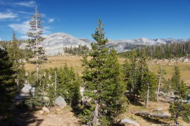 Views of Long Meadow from the Sunrise High Sierra Camp